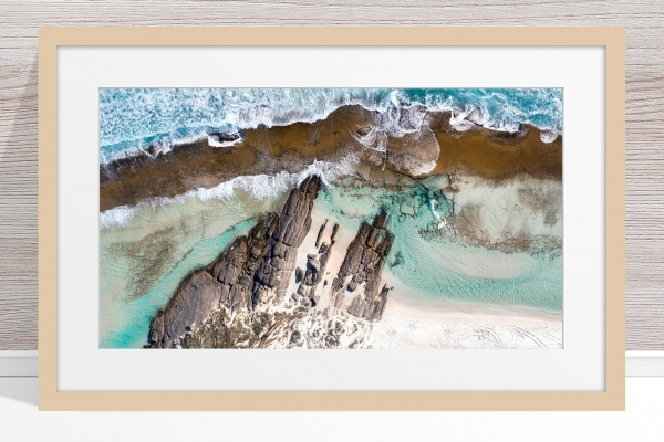 010 - Jason Mazur - '11 Mile Beach, Esperance' Light Frame