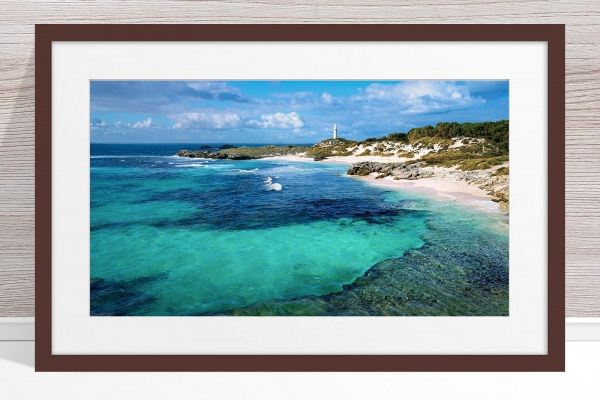 024 - Jason Mazur-'The Basin, Rottnest' Dark Frame