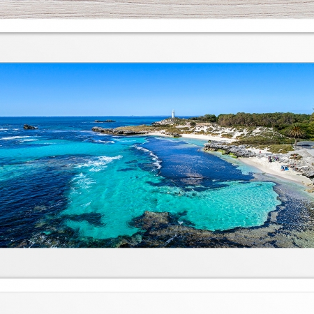 058 - Jason Mazur - 'The Basin, Rottnest' White Frame