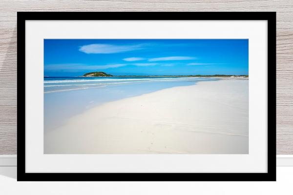 009 - Jason Mazur - 'Cape Le Grand Beachscape' Black Frame