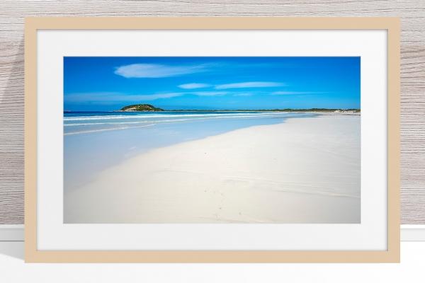 009 - Jason Mazur - 'Cape Le Grand Beachscape' Light Frame