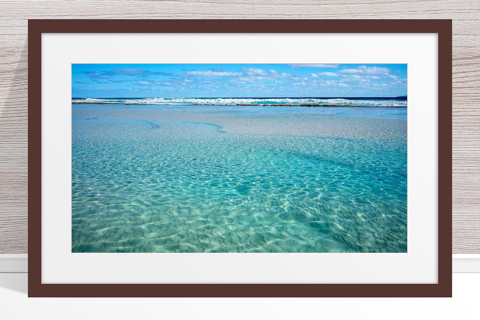 002 - Jason Mazur - 'Crystal Clear Waters, Esperance' Dark Frame