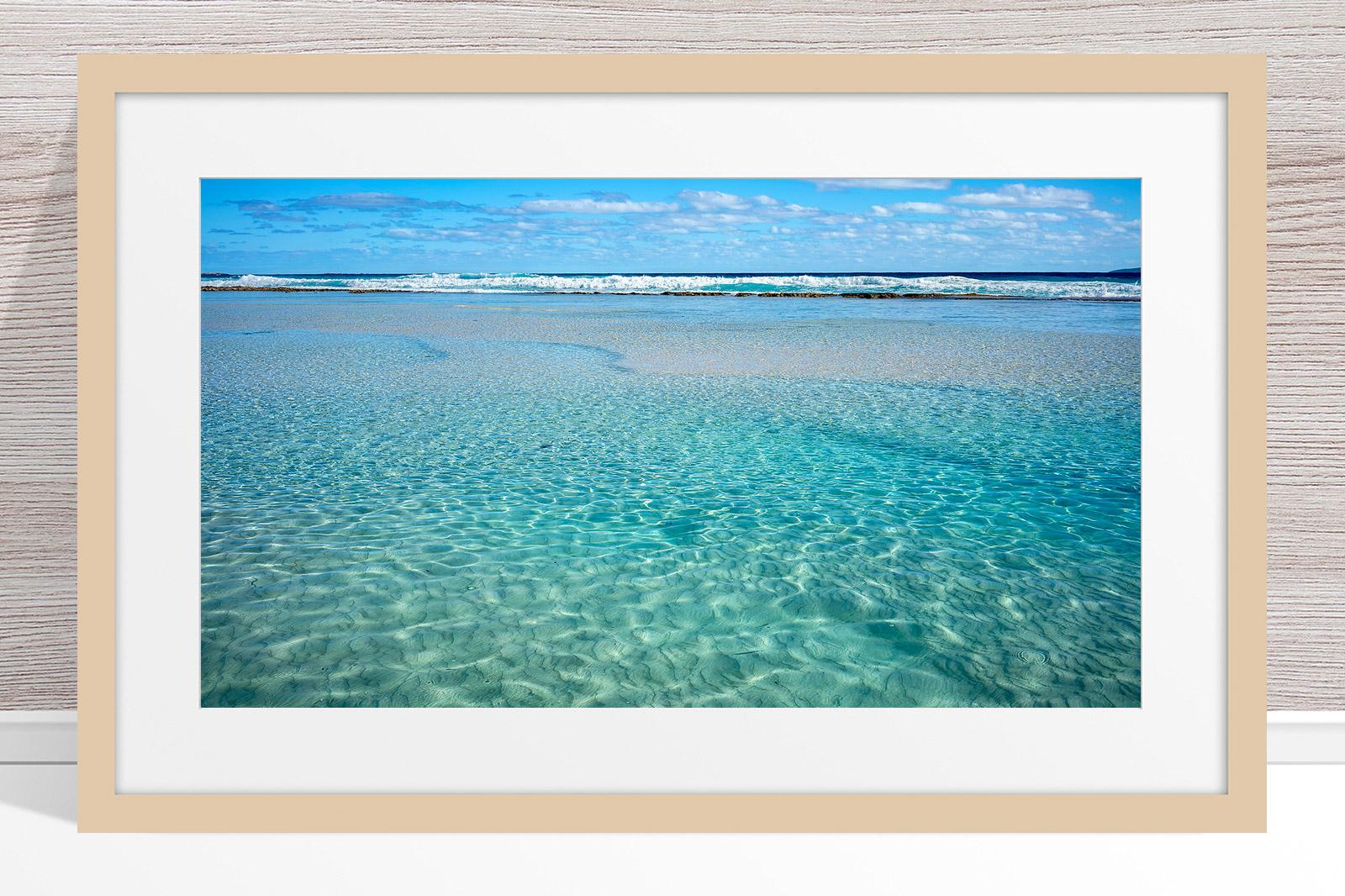 002 - Jason Mazur - 'Crystal Clear Waters, Esperance' Light Frame