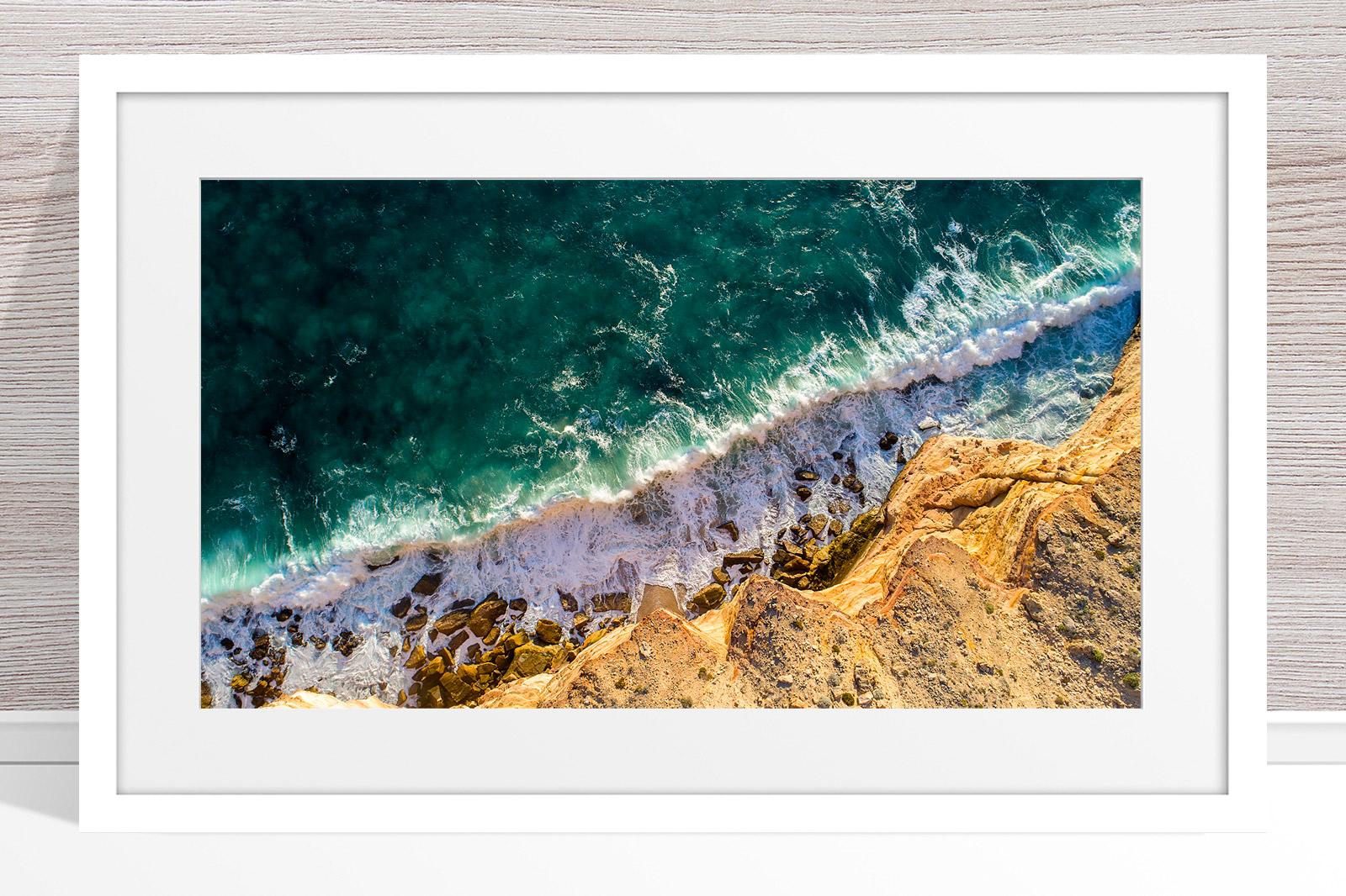 007 - Jason Mazur - Kalbarri Coastline' White Frame