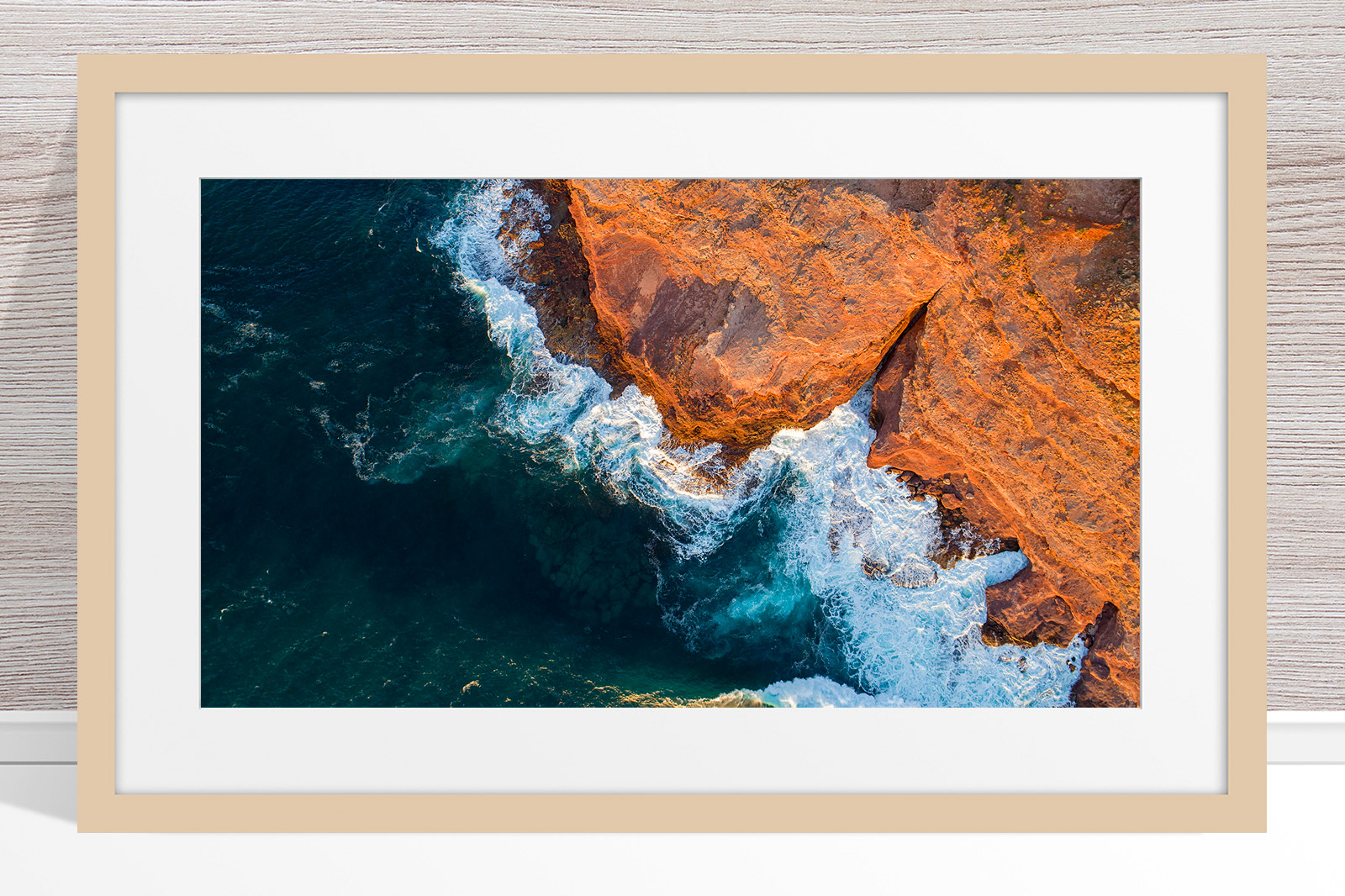 008 - Jason Mazur - 'Kalbarri Coastline' Light Frame