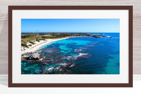 Jason Mazur - 'Longreach Bay, Rottnest' 063 Dark Frame