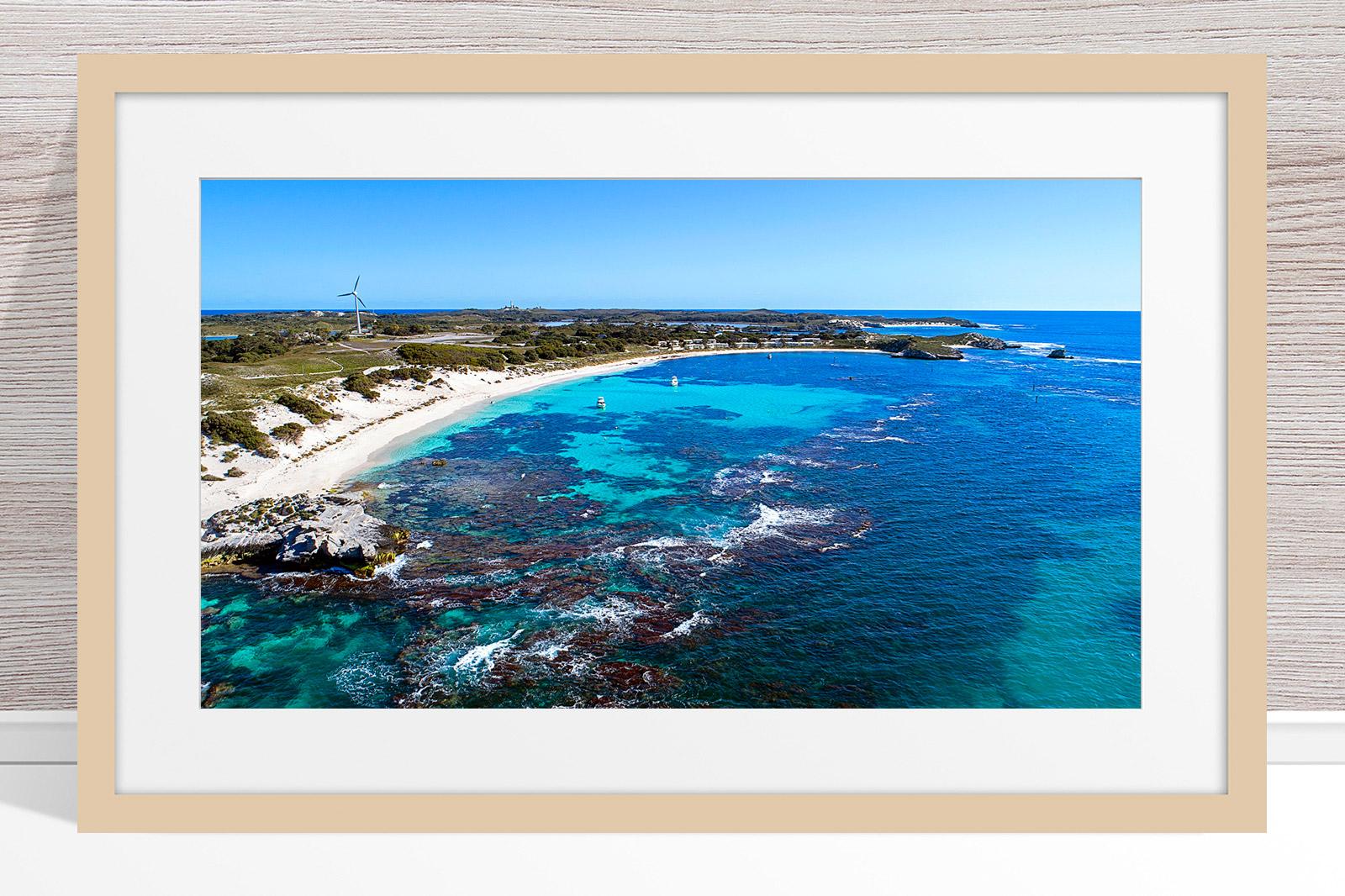 Jason Mazur - 'Longreach Bay, Rottnest' 063 Light Frame