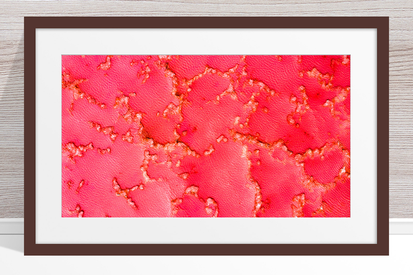 001 - Jason Mazur - 'Pink Lake, Port Gregory' Dark Frame