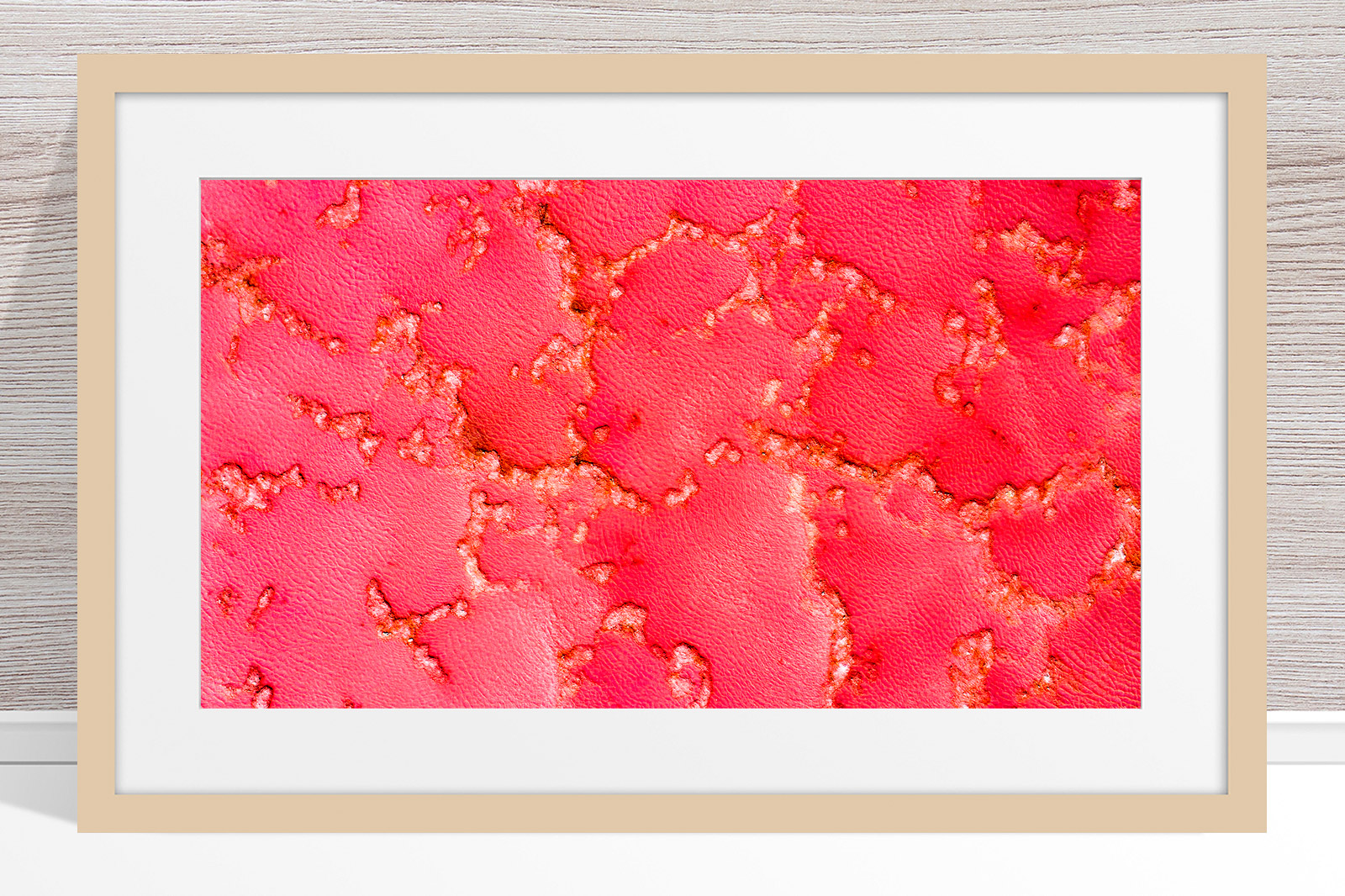001 - Jason Mazur - 'Pink Lake, Port Gregory' Light Frame