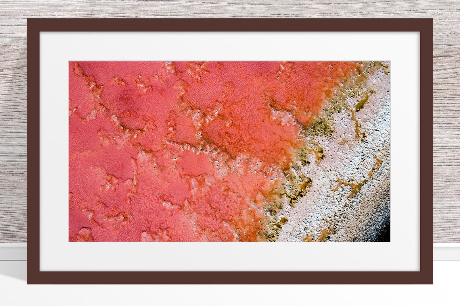002 - Jason Mazur - 'Pink Lake, Port Gregory' Dark Frame