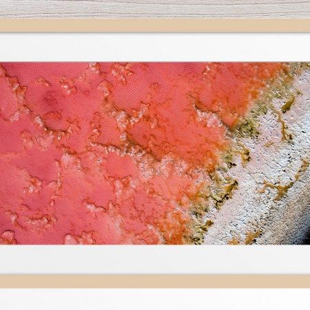 002 - Jason Mazur - 'Pink Lake, Port Gregory' Light Frame