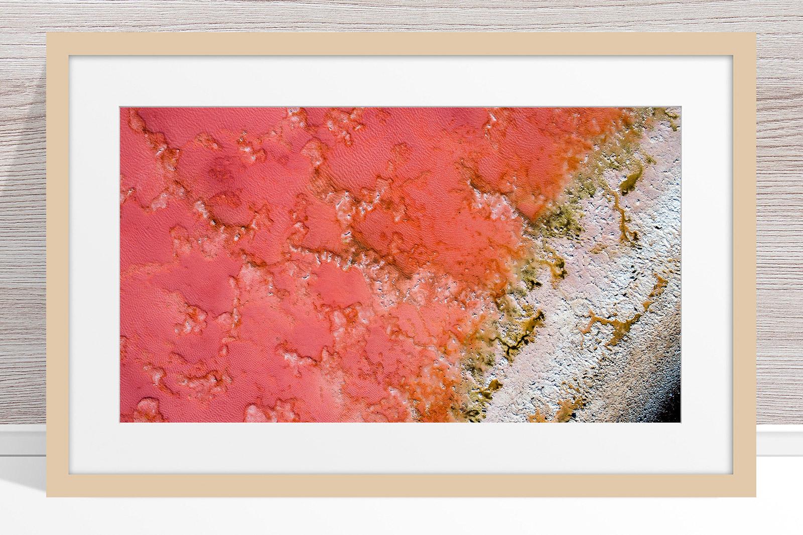 002 - Jason Mazur - 'Pink Lake, Port Gregory' Light Frame