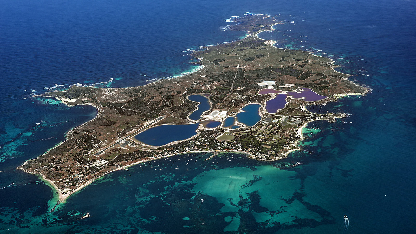 Jason Mazur - 'Rottnest Island From Above - 003