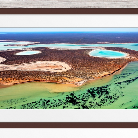019 - Jason Mazur - 'Big Lagoon, Shark Bay' Dark Frame