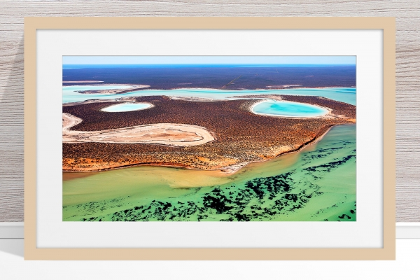 019 - Jason Mazur - 'Big Lagoon, Shark Bay' Light Frame