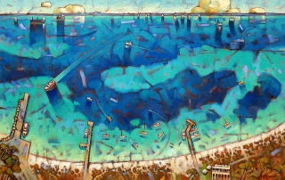 Malcolm Lindsay - 'Thomson Bay, Rottnest'