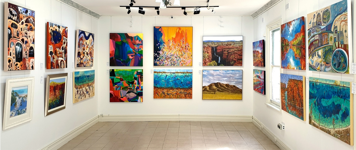 Mirage Gallery Inaugural Group Exhibition