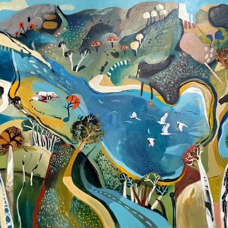 Susan Trudinger - 'Shoreline'