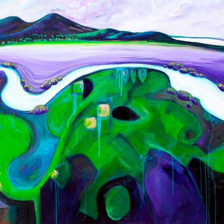 Tania Chanter - 'Meandering Pastures'