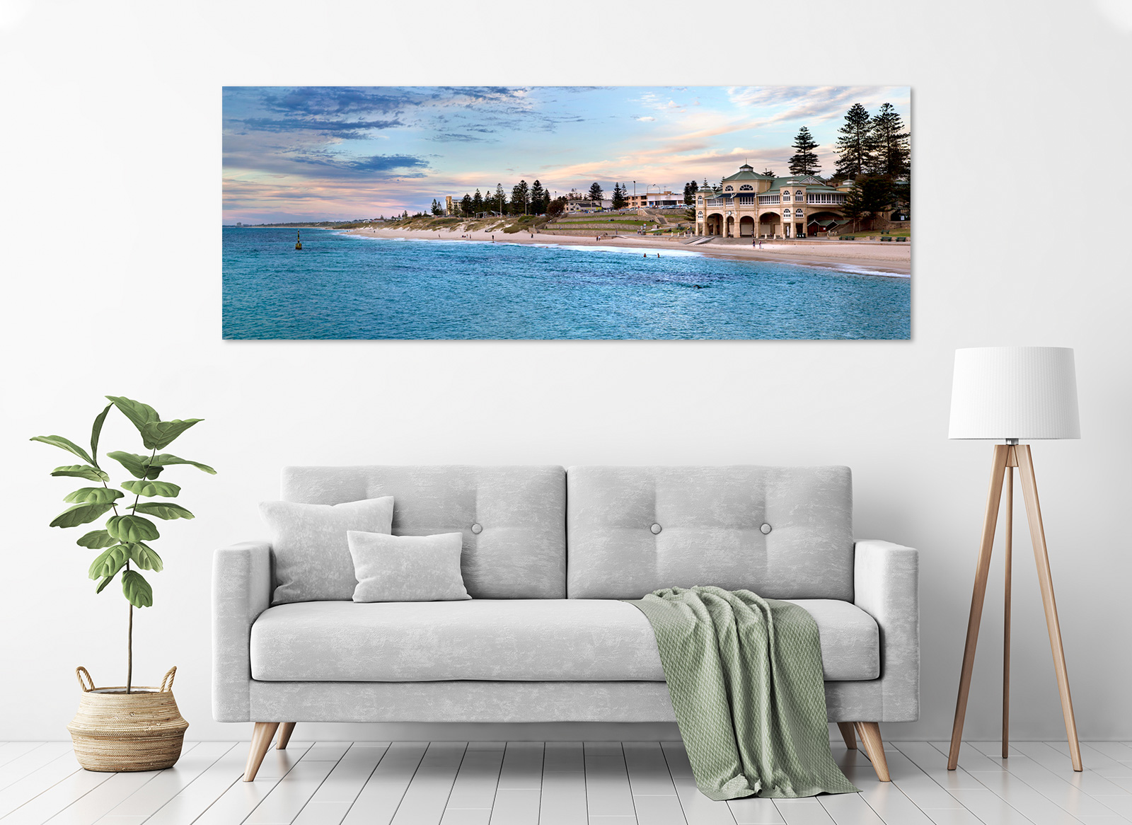 Jason Mazur - 'The Tea Rooms, Cottesloe Beach 002' in a room