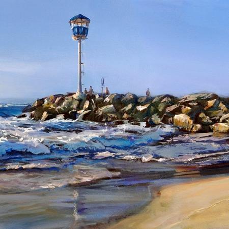 Greg Baker - 'Changing of the Season, City Beach'