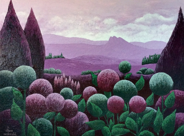 Diane McDonald - Mountains in Mulberry'