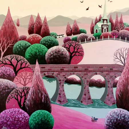 Diane McDonald - 'Richmond In Rose'