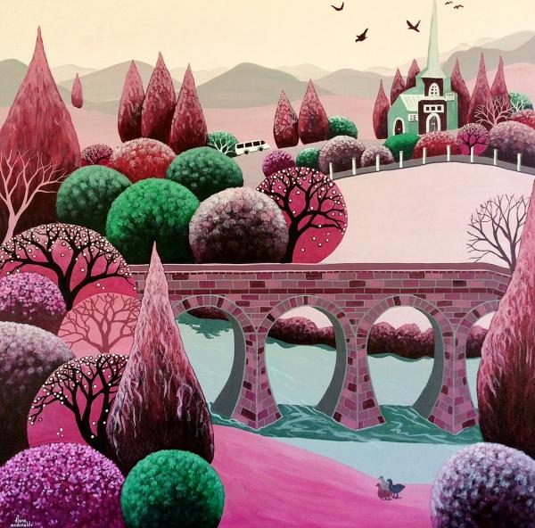 Diane McDonald - 'Richmond In Rose'