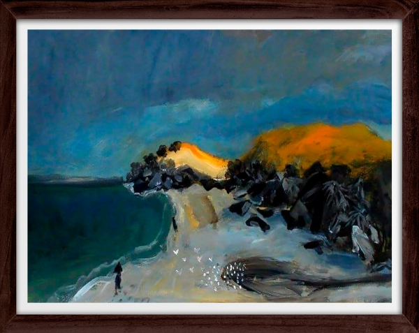 Glenn Brady - 'Beach NSW' Framed