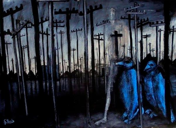 Glenn Brady - 'Blue Birds'