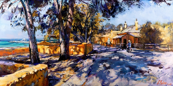 Greg Baker - 'One Sunday Morning, Rottnest'