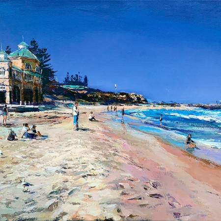 Greg Baker - 'Summer Beach, Cottesloe'