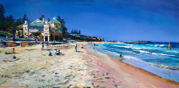 Greg Baker - 'Summer Beach, Cottesloe'