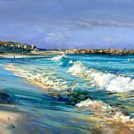 Greg Baker - 'Winter Beach, Cottesloe'
