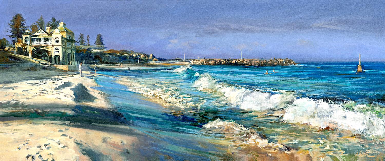Greg Baker - 'Winter Beach, Cottesloe'