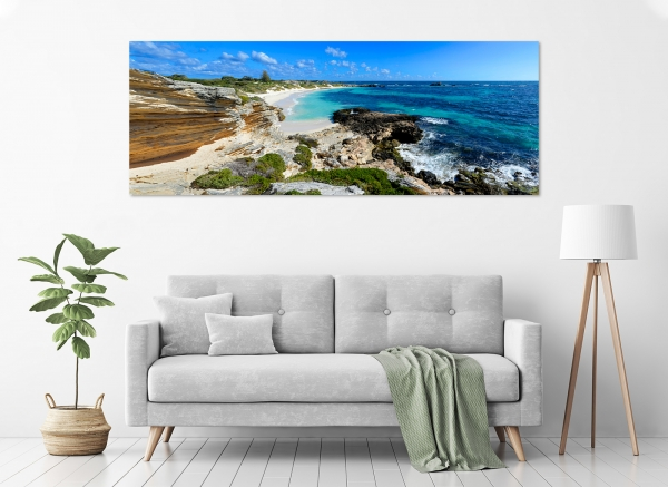 Jason Mazur - 'Armstrong Bay, Rottnest Island 004' in a room