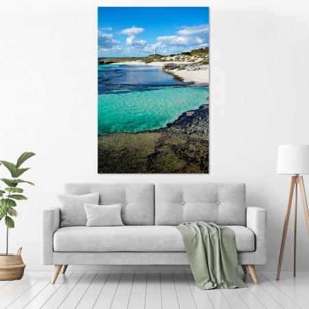 Jason Mazur - 'The Basin, Rottnest Island 033' in a room