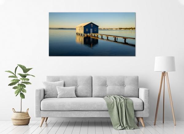 Jason Mazur - 'Boat Shed, Crawley 020' in a room