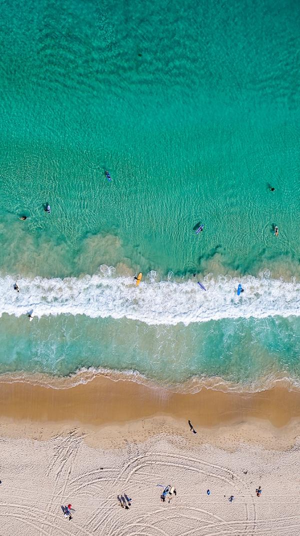 Jason Mazur - 'Contacio Beach, Scarborough 0698'