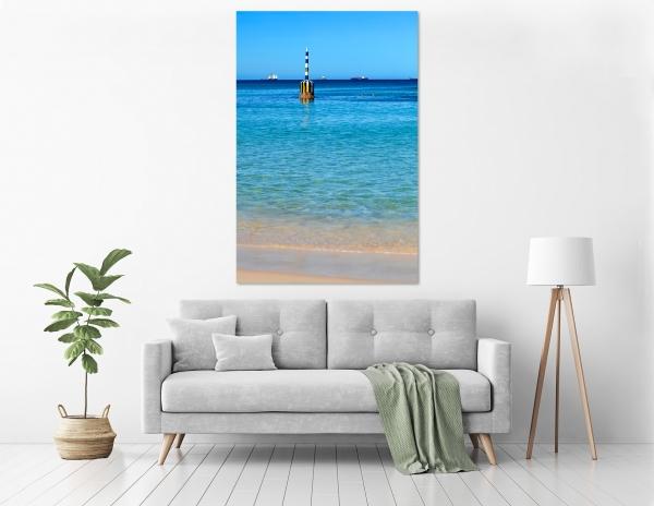 Jason Mazur - 'Cottesloe Beach Pylon 012' in a room