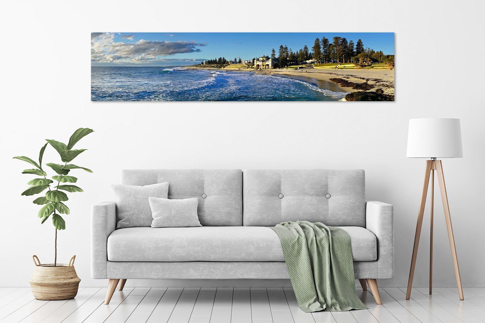 Jason Mazur - 'Winter Swell, Cottesloe Beach 006' in a room