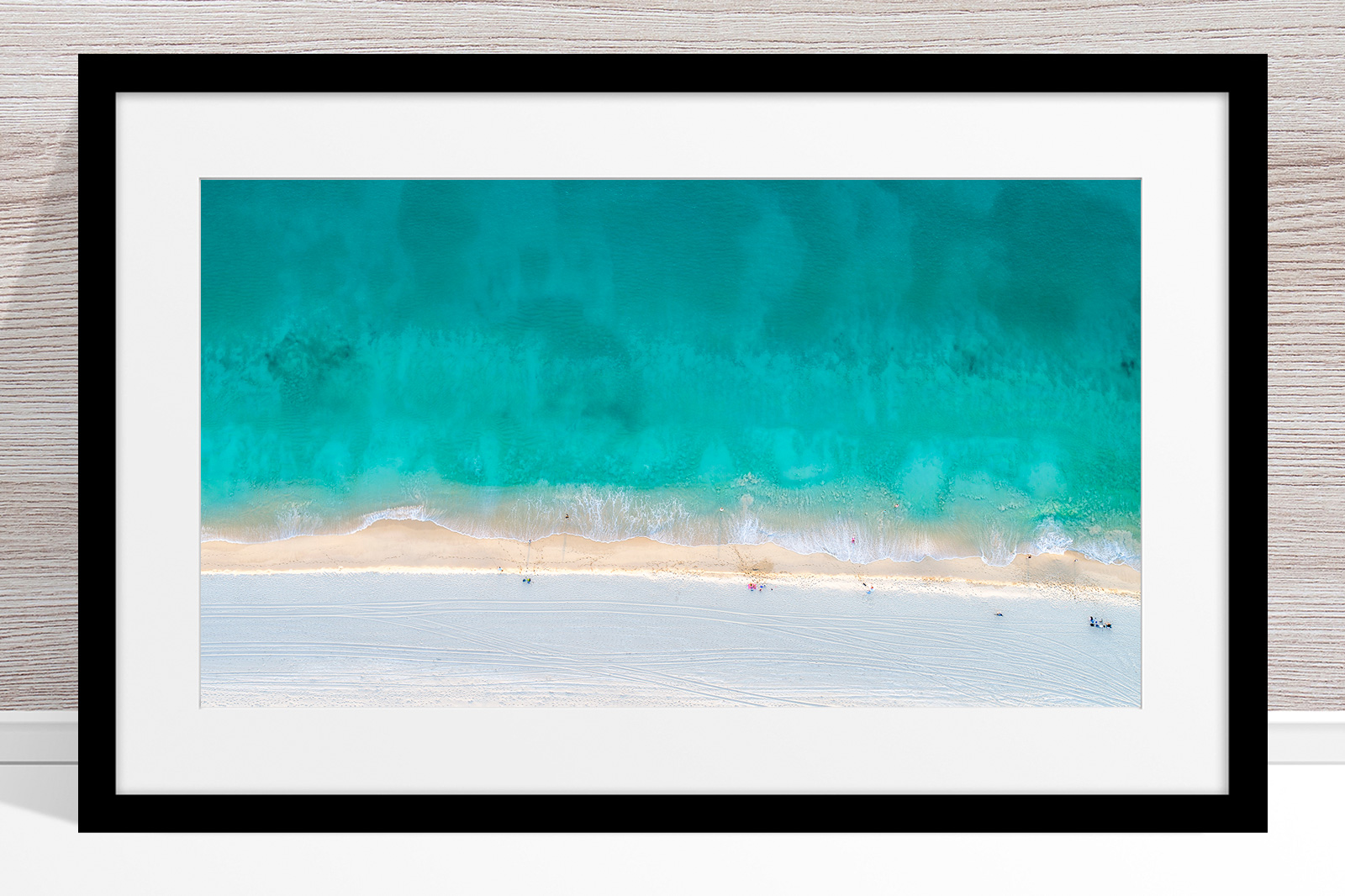 Jason Mazur - 'Floreat Beach 0624' Black Frame