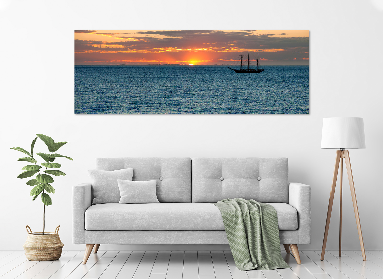 Jason Mazur - 'The Leeuwin and Rottnest Island 006' in a room