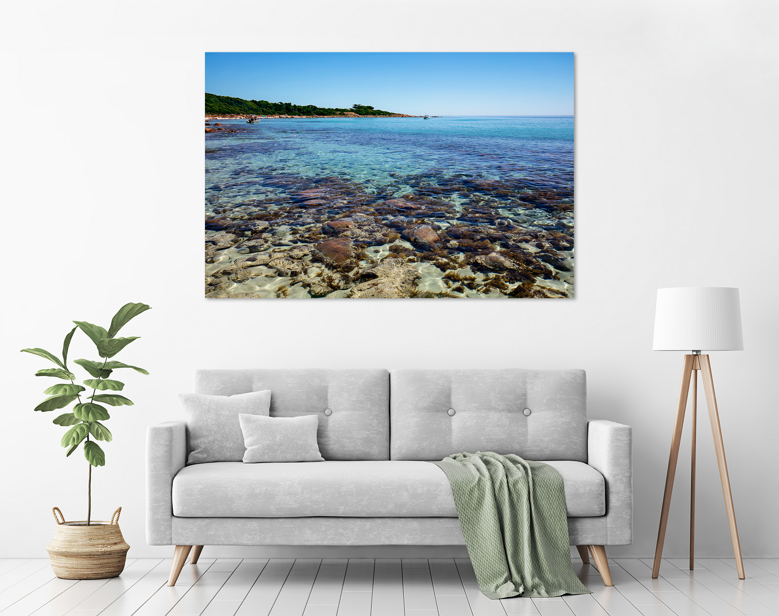 Jason Mazur - 'Meelup Coastline, Dunsborough 012' in a room