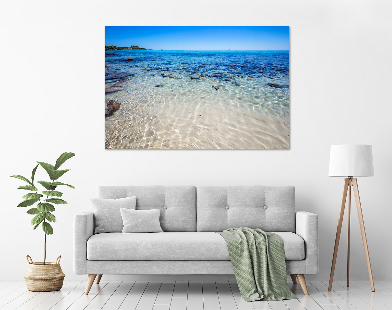 Jason Mazur - 'Meelup Coastline, Dunsborough 013' in a room