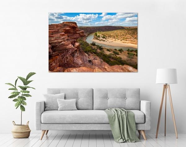 Jason Mazur - 'Murchison River Gorge 005' in a room