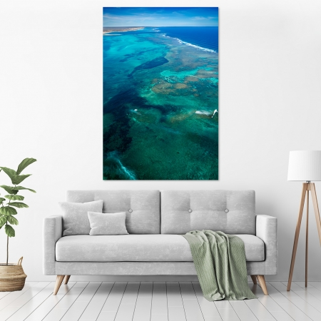 Jason Mazur - 'Ningaloo Reef, Coral Bay 013' in a room