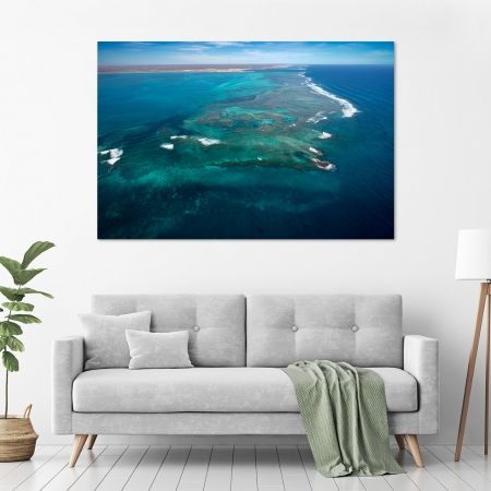 Jason Mazur - 'Ningaloo Reef, Coral Bay 014' in a room