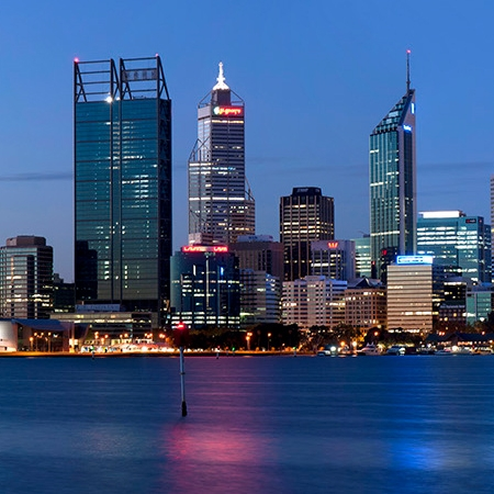 Jason Mazur - 'Evening Skyline, Perth 004'