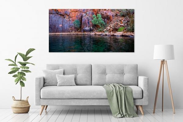 Jason Mazur - 'Python's Pool, Millstream-Chichester National Park 022' in a room